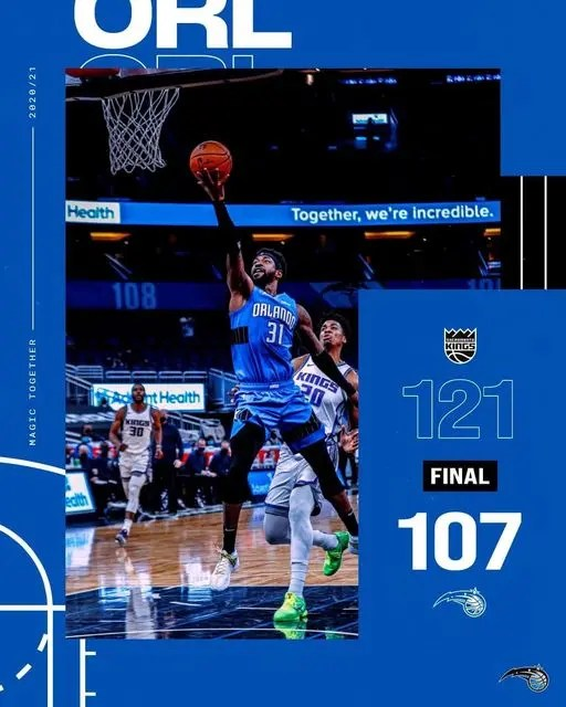 Read more about the article AS THE KINGS WIN 121-107 IT IS ANOTHER TOUGH WATCH FOR MAGIC FANS