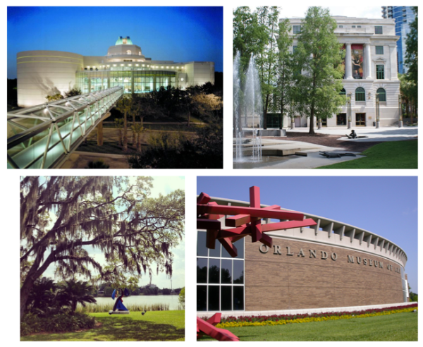 Free entry to Orlando museums with bank card: image of Orlando cultural destinations