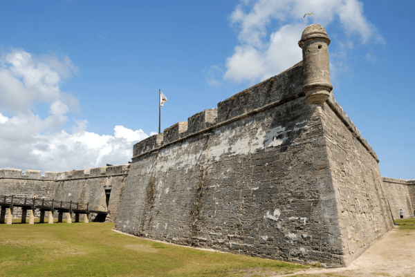 Free days at Florida's National Parks: image of Castillo de San Marcos National Monument in St. Augustine