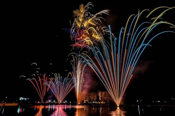 Orlando fireworks: image of fireworks show in Orlando