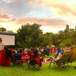 Outdoor movies in Orlando