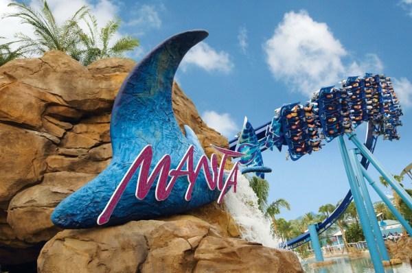 SeaWorld Orlando: image of Manta rollercoaster