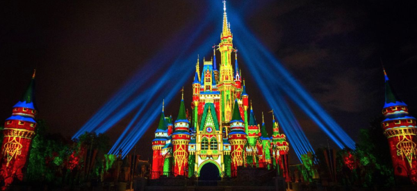 Holiday events in Orlando: image of Cinderella Castle at Magic Kingdom​® Park, Part of Walt Disney World​® Resort in Orlando