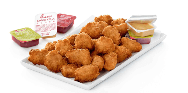 Family meal bundles: image of chicken nuggets from Chick-fil-A