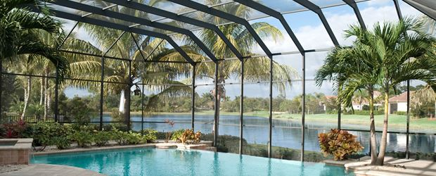 Swimming Pool Screening : Pool screen enclosures by crafters of orlando
