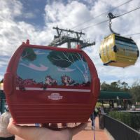 Disney Skyliner Popcorn Bucket Now Available at Epcot