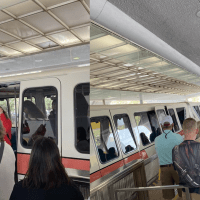 EPCOT Monorail Service Disrupted After Monorail Coral Doors Reportedly Wouldn't Close
