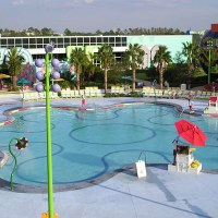 Hippy Dippy Pool at Disney's Pop Century Resort Closing for Maintenance on 15th February