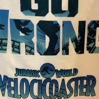 Universal Orlando Annual Passholder Exclusive Jurassic World VelociCoaster T-Shirt Now Available