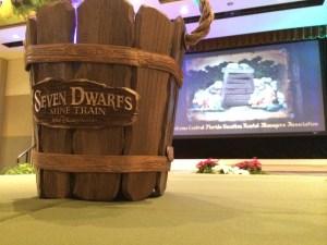 Disney seven dwarfs mine train ride
