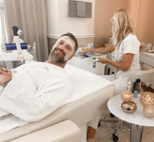 Petr Vágner na kosmetice