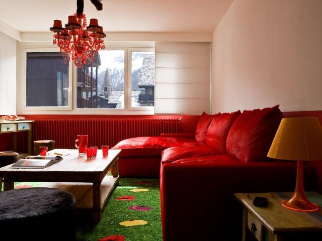Hotel Ormelune Val d'Isère - Suite Ormelune - Salon