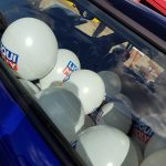 How many balloons in the mini!