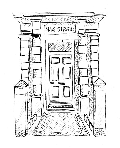 Ormkskirk Heritage Trail - The Magistrates Court