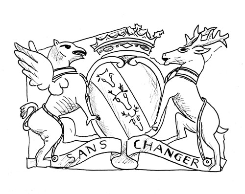 Ormskirk Heritage Trail - Old Town Hall Crest
