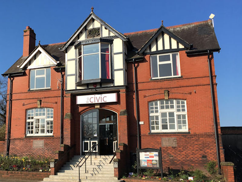 the history of ormskirk civic hall