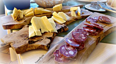 Corallina salami and cheese