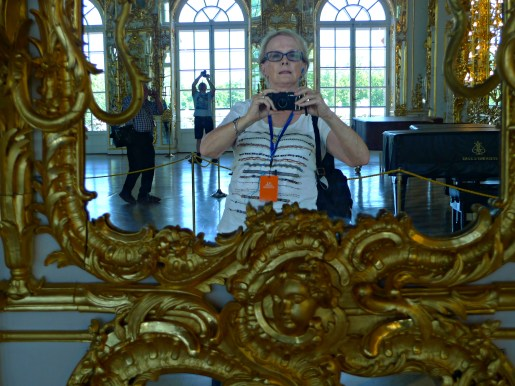 Ultimate selfie in the Great Hall, Catherine Palace