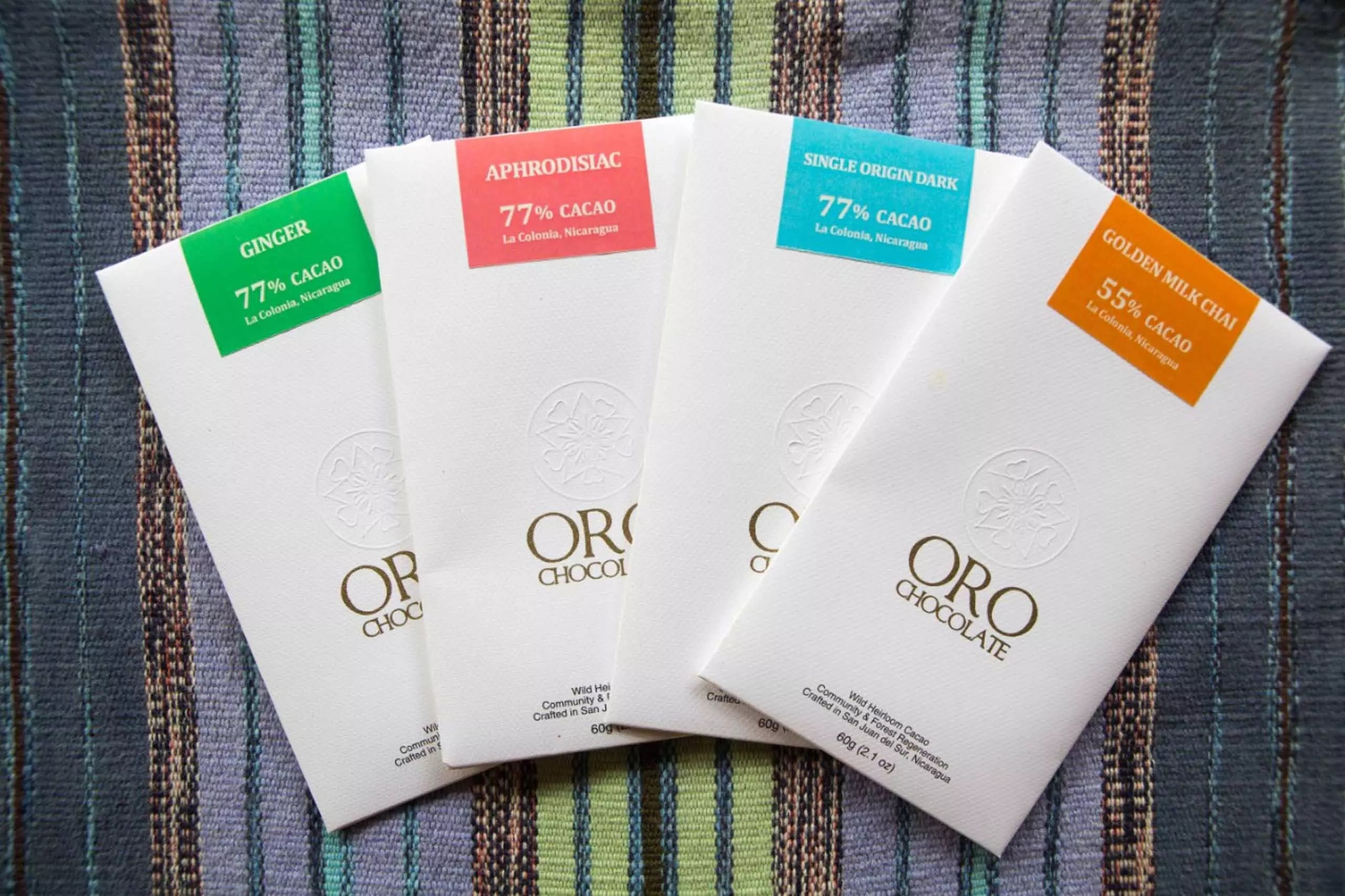 Oro Chocolate 4-bar-collection-16 Wholesale