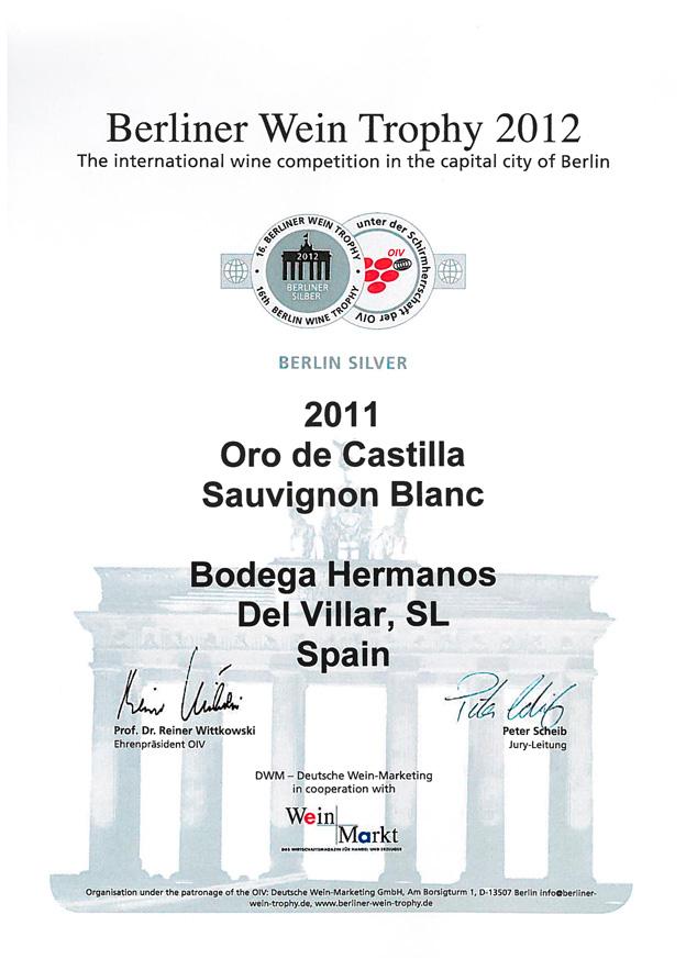 Beliner Wein Trophy 2012
