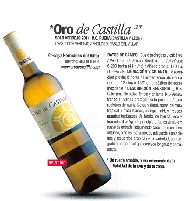 Restauradores Oro de Castilla
