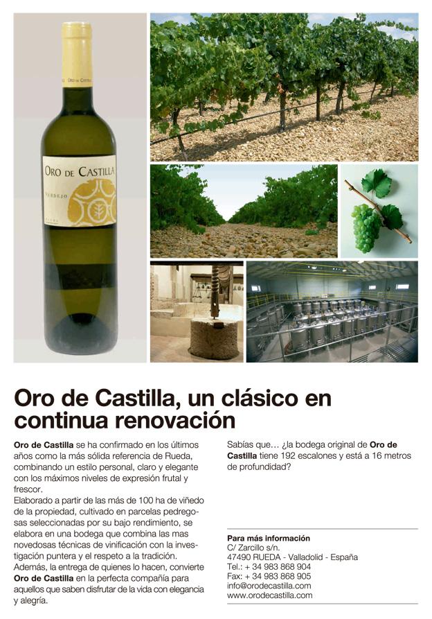 Oro de Castilla, un clásico en continua renovación