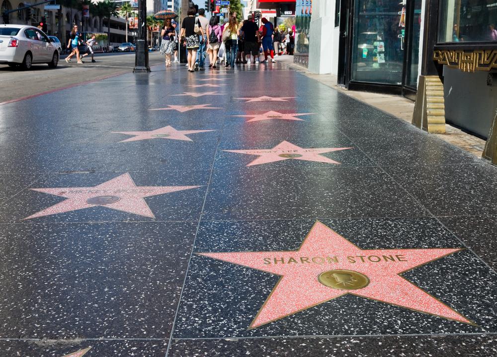 Resultado de imagem para hollywood sidewalk stars
