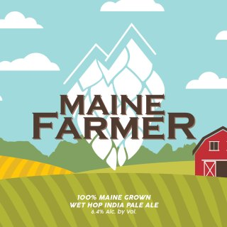 MAINE FARMER WET HOP IPA