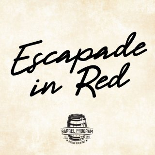 ESCAPADE IN RED BARREL-AGED BROWN ALE