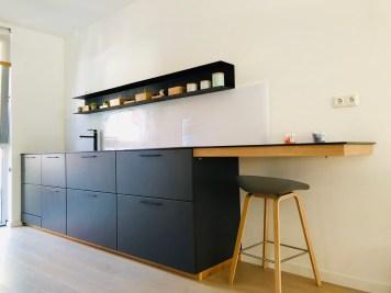 Kitchen black part