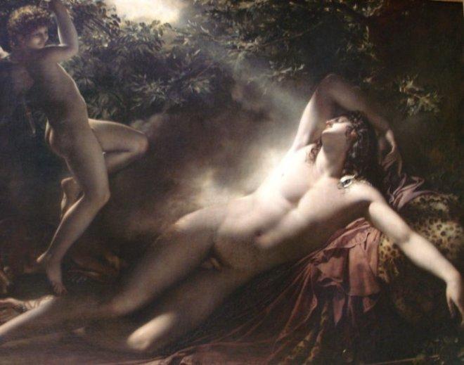 Le Sommeil d'Endymion par Girodet