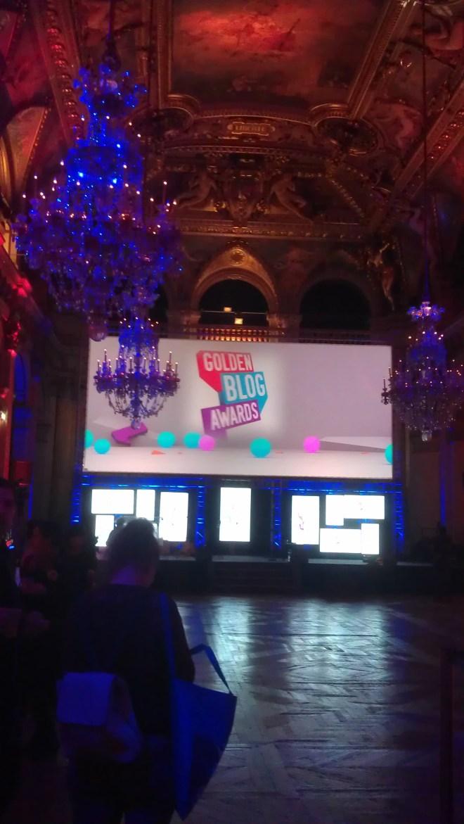 Photo des Golden blog awards 2012