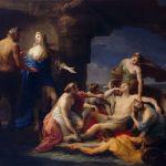 800px-Pompeo_Batoni_-_Teti_richiama_Achille_dal_Centauro_Chirone_1770