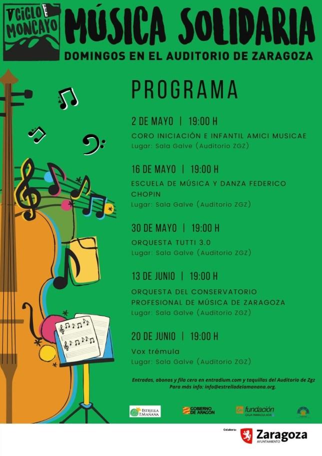 V Ciclo Moncayo de Música Solidaria