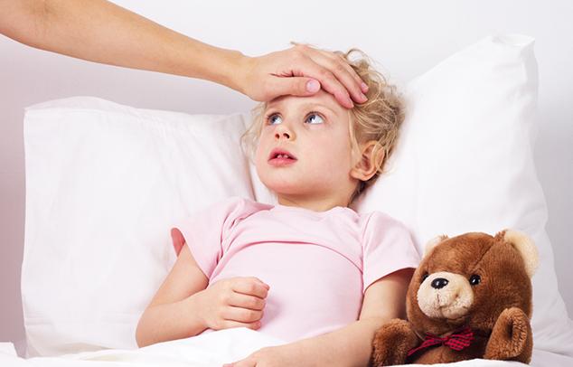 láz és influenza gyerekeknél