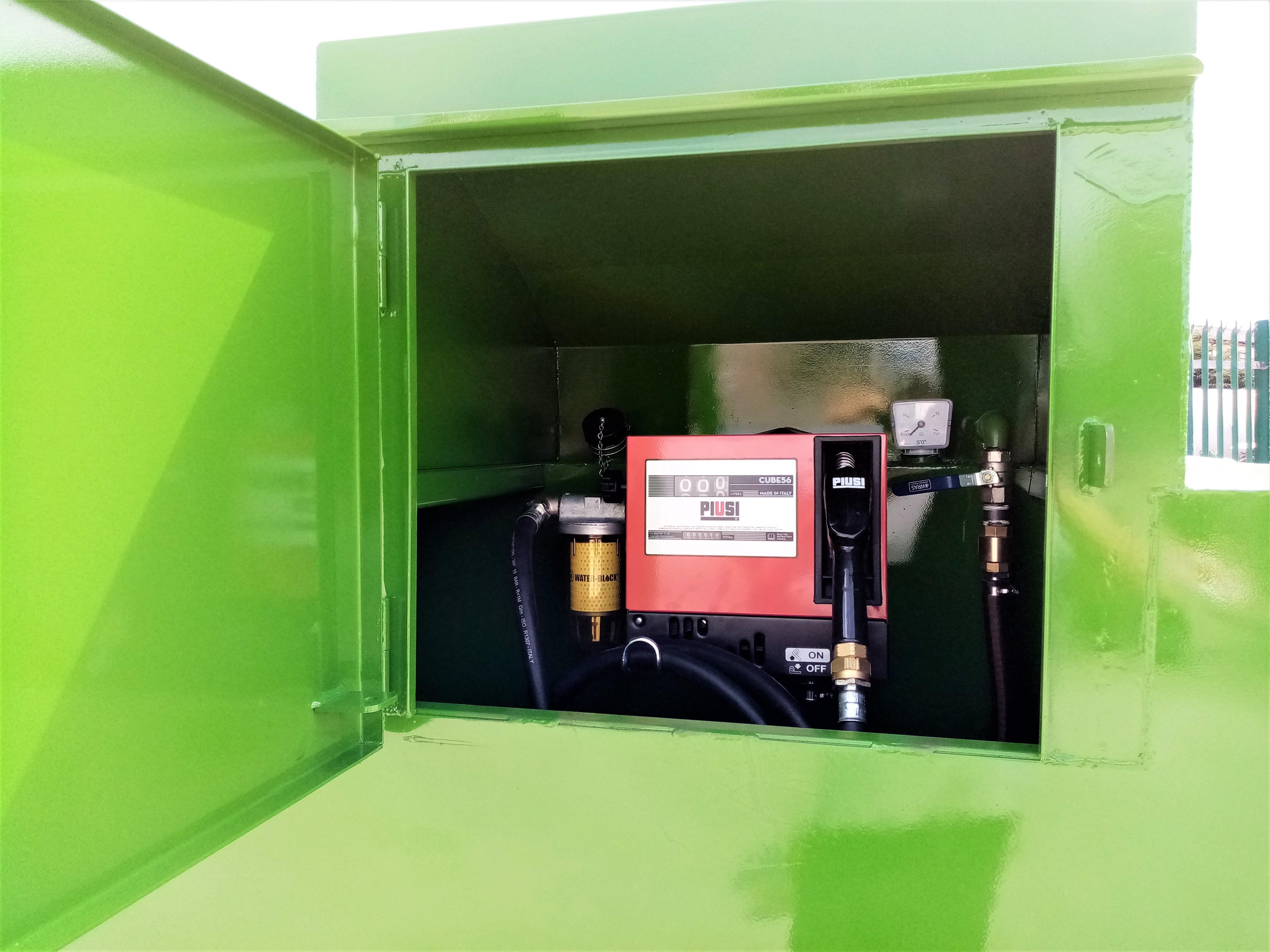 bunded fuel tanks