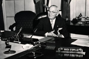 Harry Truman: The Buck Stops Here