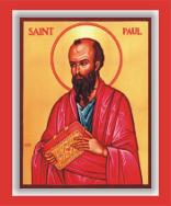 معنى كلمة تسلية Παραμυθέομαι في رسائل القديس بولس