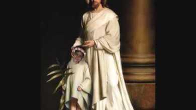 حوار بين ملاك السماء البرئ الطفلة الشهيدة ماجي والرب يسوع