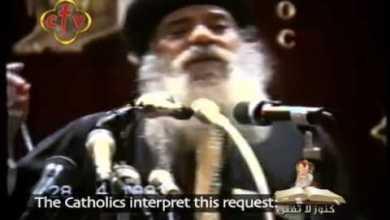 عتاب الله لأولاده و لأحبائه † عظه للبابا شنوده الثالث † 1993 † GOD s reproach to his beloved 2
