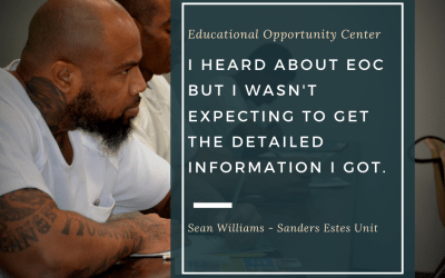 EOC Testimonial – Sean Williams