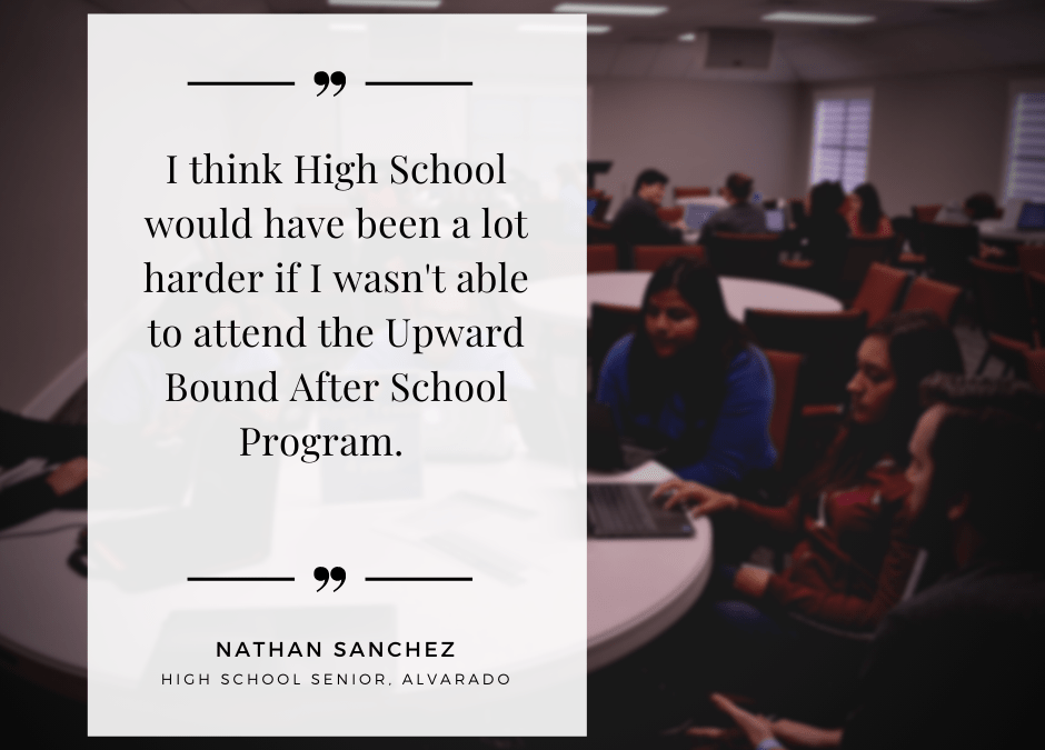 Upward Bound Impact – Nathan Sanchez