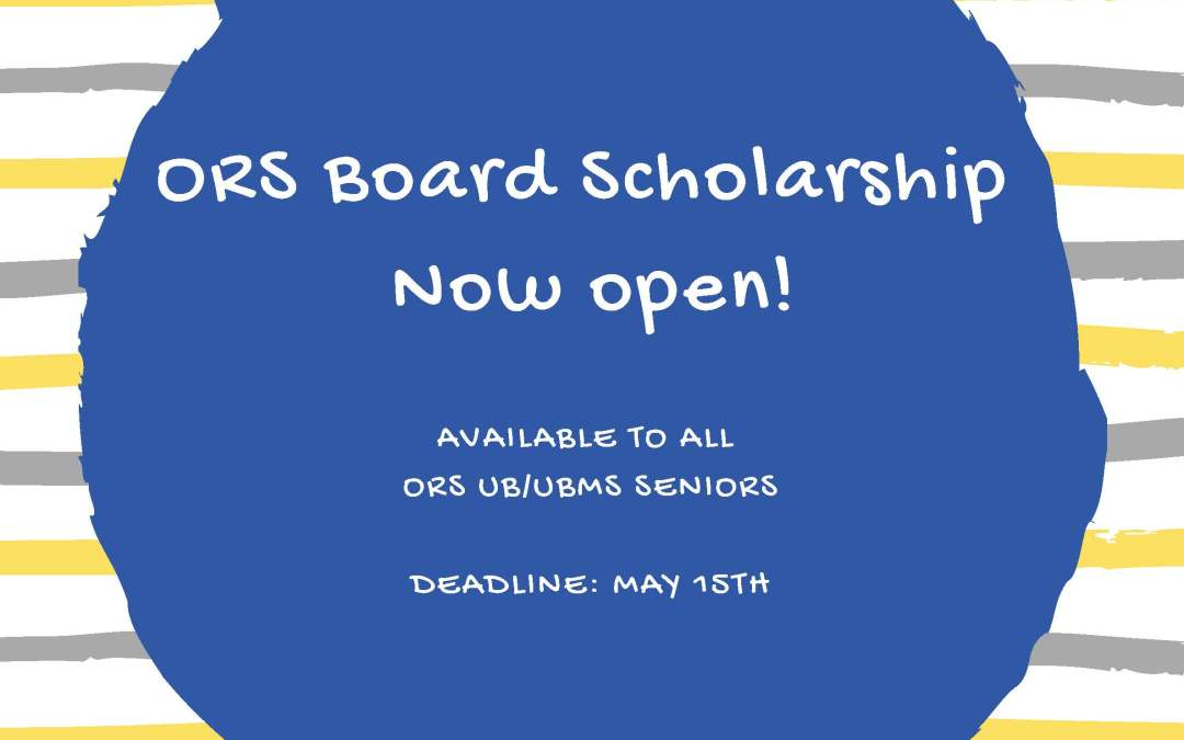 ORS Upward Bound Board Scholarship