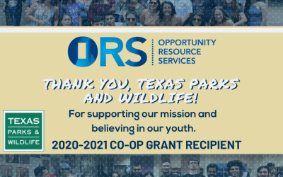ORS Receives A Grant!