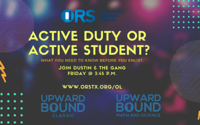 Workshop: Active Duty or Active Student?