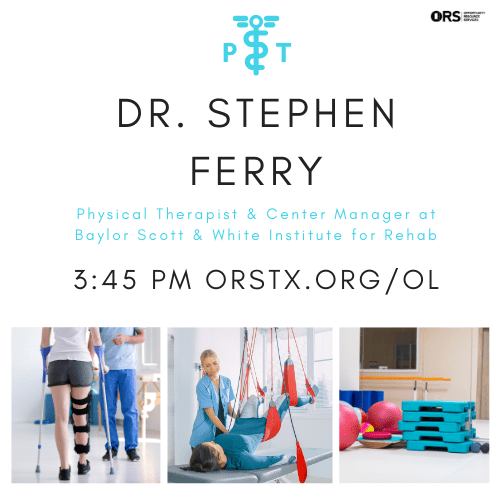 Guest Speaker: Dr. Stephen Ferry