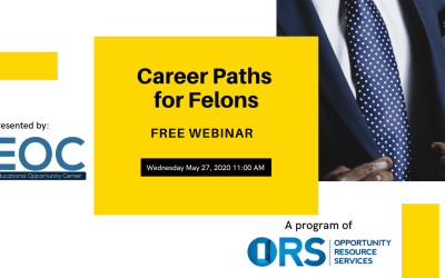 EOC Webinar Series: Career Path for Felons