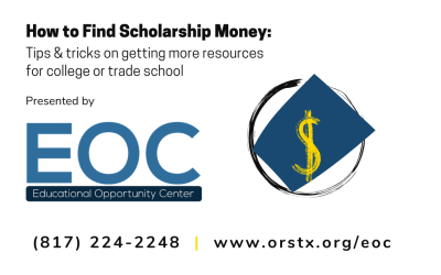 EOC Webinar Series: How To Find Scholarship Money