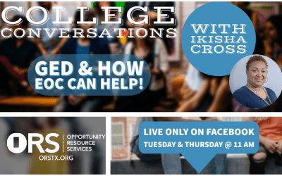 College Conversations Episode 11: GED and how EOC can help!