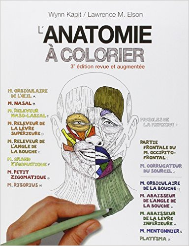 "Ouvrage Ortho-Bionomy ""L'anatomie à colorier"""